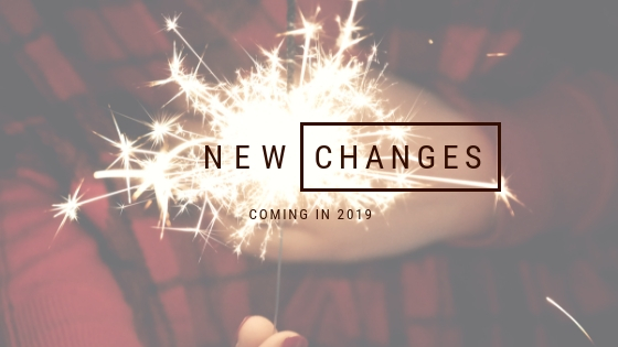 New Year, New Changes